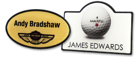 Shaped Name Badges | www.namebadgesinternational.ie